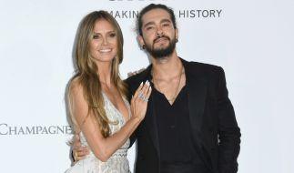 Glücklich vereint: Heidi Klum und Tom Kaulitz. (Foto)