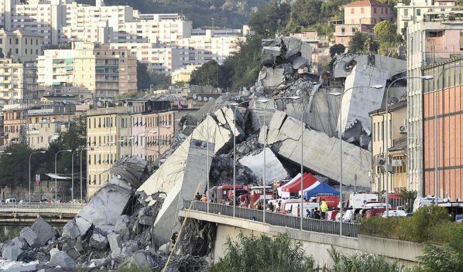 Nach dem verheerenden Einsturz einer Autobahnbrücke in Genua rückt die Frage nach der Ursache für die Katastrophe in den Fokus. (Foto)