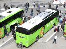 Auf der Autobahn A19 in Richtung Berlin ist ein Fernbus des Unternehmens Flixbus verunglückt (Symbolfoto). (Foto)