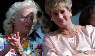 Lady Di hatte Familienstress mit Mutter Frances Shand Kydd. (Foto)