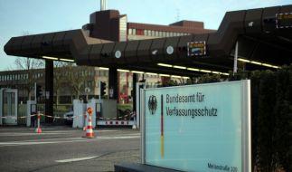 Das Bundesamt für Verfassungsschutz untersucht das aktuelle Bedrohungspotenzial. (Foto)