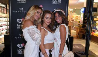 Angelina Heger, Kim Gloss und Sarah Lombardi