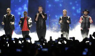 Vor einem Konzert der Backstreet Boys wurden 14 Menschen verletzt. (Foto)