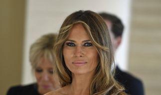 Melania Trump: Ist ihr Lächeln nur gespielt? (Foto)