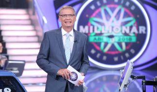 """Günther Jauch meldet sich mit """"Wer wird Millionär?"""" aus der Sommerpause zurück. (Foto)"""