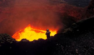 Eine moderne Sagen behauptet, dass der Eingang zur Hölle in Sibirien liegen soll (Symbolbild). (Foto)