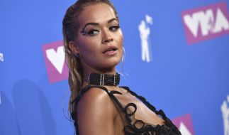 Rita Ora auf dem Roten Teppich der MTV Video Music Awards 2018. (Foto)