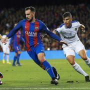 Medienbericht:BVB heiß auf 100-Mio-Star Paco Alcácer aus Barcelona (Foto)