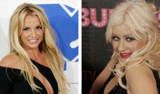 Zwischen Britney Spears undChristina Aguilera herrscht keine Konkurrenz. (Foto)