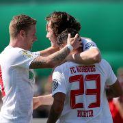 Das hatte sich Augsburg anders vorgestellt: 3:4 gegen Hertha (Foto)
