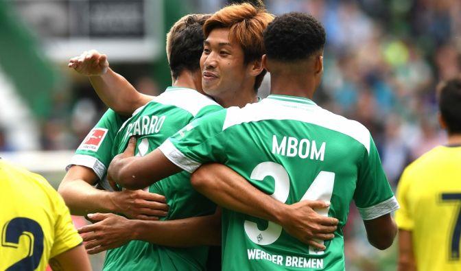 Werder vs. Frankfurt im TV