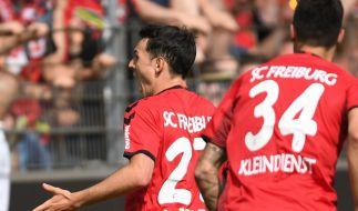 Heimspiel SC Freiburg: Die aktuellen Spielergebnisse der 1. Fußball-Bundesliga bei news.de. (Foto)