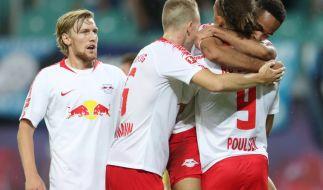 Heimspiel RB Leipzig: Die aktuellen Spielergebnisse der 1. Fußball-Bundesliga bei news.de. (Foto)