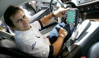 Der frühere Formel-1-Pilot und Paralympicssieger Alessandro Zanardi startet als Gastfahrer für BMW in der diesjährigen DTM-Saison bei den Rennen im italienischen Misano. (Foto)