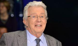 ZDF-Shomaster Dieter Thomas Heck ist im Alter von 80 Jahren gestorben. (Foto)