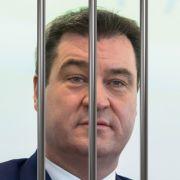 Muss Markus Söder bald ins Gefängnis? (Foto)