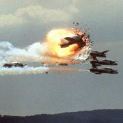 In den Flammen auf der Ramstein Airbase kamen 70 Menschen ums Leben.