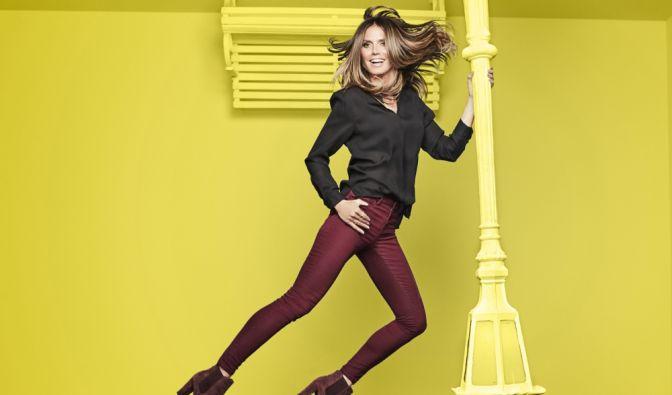 """Unter dem Motto """"Let's shake it up"""" ist die neue Esmara-Kollektion von Heidi Klum ab 17. September bei Lidl erhältlich. (Foto)"""