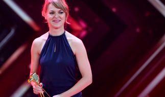 """Lisa Wagner gewann die Goldene Kamera als """"Beste deutsche Schauspielerin"""" im Jahr 2017. (Foto)"""
