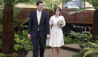 Wenn Prinzessin Eugenie von York ihren Verlobten Jack Brooksbank heiratet, wird das wohl ein teurer Spaß für den britischen Steuerzahler. (Foto)