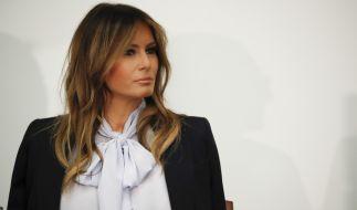 Welche Gefühle wirklich in Melania Trump vorgehen, versteht die Ehefrau des US-Präsidenten geschickt zu verbergen. (Foto)