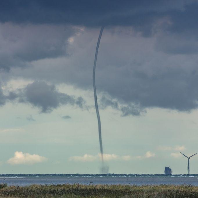 Tornado-Alarm in Deutschland! Großwetterlage begünstigt Unwetter (Foto)