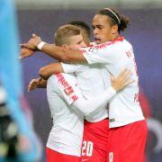 RB Leipzig gewinnt das EL-Rückspiel gegenSorja Luhansk (Foto)