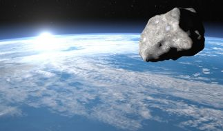 Wissenschaftler wollen Asteroiden gezielt in die Erdumlaufbahn locken. (Foto)