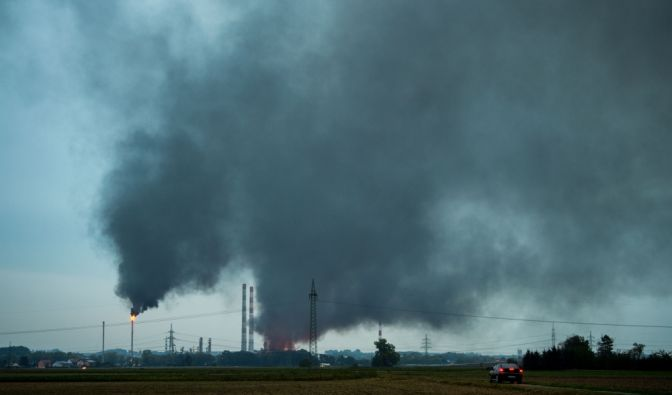 Großbrand in Ingolstadt