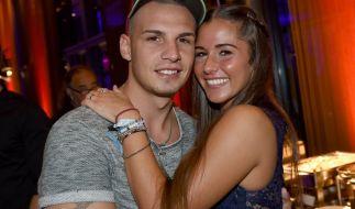 Ein Bild aus glücklichen Tagen: Vor rund zwei Jahren ging die Beziehung von Pietro und Sarah Lombardi in die Brüche. (Foto)