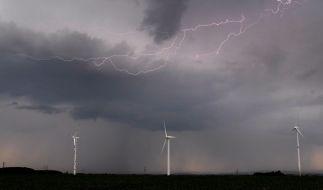Auf Deutschland kommen Unwetter mit Starkregen und Hagel zu. (Foto)