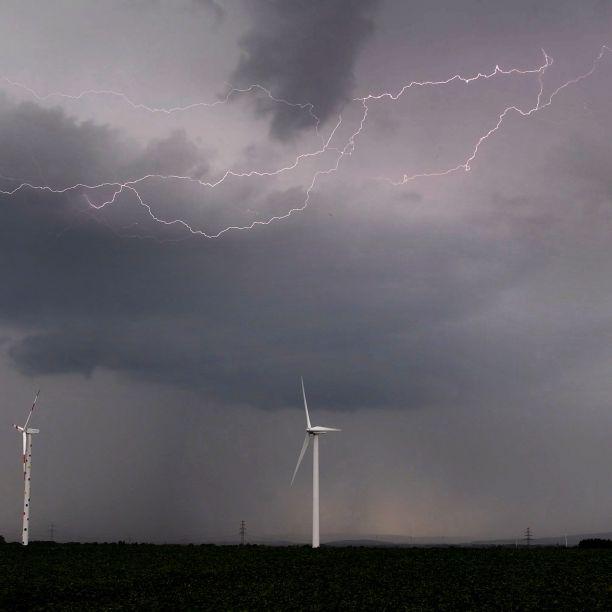 Unwetter-Warnung! Es drohen Hagel und Starkregen (Foto)