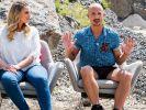 """Die Juroren Angelina Kirsch und Oliver Tienken beim """"Curvy Supermodel""""-Finale am 6. September 2018. (Foto)"""