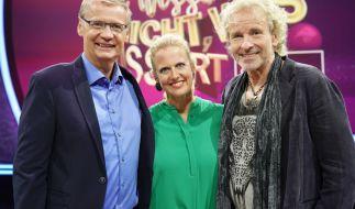 """Für Günther Jauch, Barbara Schöneberger und Thomas Gottschalk steht am Freitag die vorerst letzte Folge von """"Denn sie wissen nicht, was passiert"""" auf dem Programm. (Foto)"""