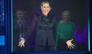 Michelle Hunziker platzt mitten in TV-Show die Hose (Foto)