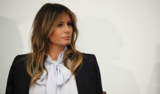 Melania Trump wirkt nicht immer glücklich als First Lady. (Foto)
