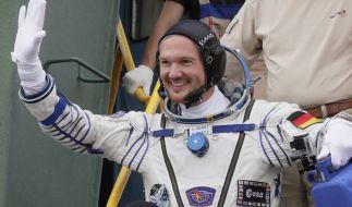 Alexander Gerst meldet sich an diesem Wochenende per Live-Schalte von der ISS. (Foto)