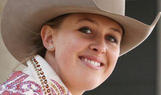 Gina-Maria Schumacher ist Westernreiterin. (Foto)