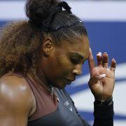 17.000 Dollar Geldstrafe! Serena Williams sorgt für Eklat (Foto)