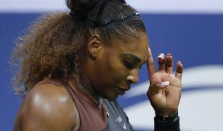 Serena Williams steht aktuell in der Kritik. (Foto)