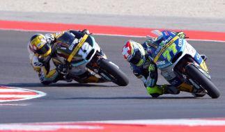 Beim Moto2-Rennen in San Marino kam es zu einem Schock-Moment. (Symbolbild) (Foto)