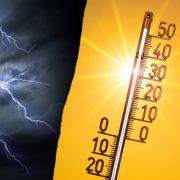 Erst 30 Grad, dann neue Unwetter! HochPerryman bringt den Sommer zurück (Foto)
