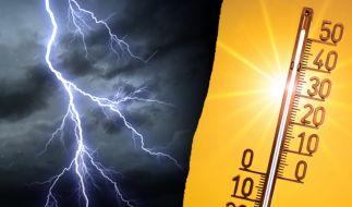 In dieser Woche sorgt Hoch Perryman für 30 Grad. Doch dann kommen Unwetter auf uns zu. (Foto)