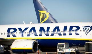 Bleiben die Flugzeuge der irischen Fluggesellschaft am Boden? Ryanair-Mitarbeiter haben für Mittwoch neue Streiks angekündigt. (Foto)