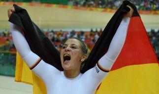Nach einem Trainingssturz ist Olympia-Siegerin Kristina Vogel querschnittsgelähmt. (Foto)
