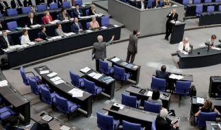 Die AfD-Fraktion verlässt die General-Debatte. (Foto)