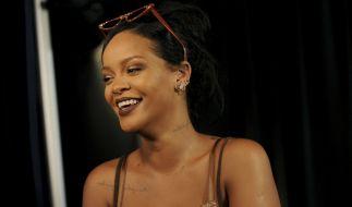 Rihanna präsentierte ihre neue Dessous-Kollektion in New York. (Foto)
