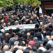 Riesiger Trauerzug für erschossenes Clan-Mitglied (Foto)