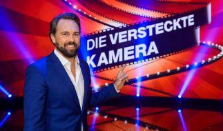 """""""Die versteckte Kamera 2018""""-Moderator Steven Gätjen empfängt unter anderem Vanessa Mai in seiner Show. (Foto)"""