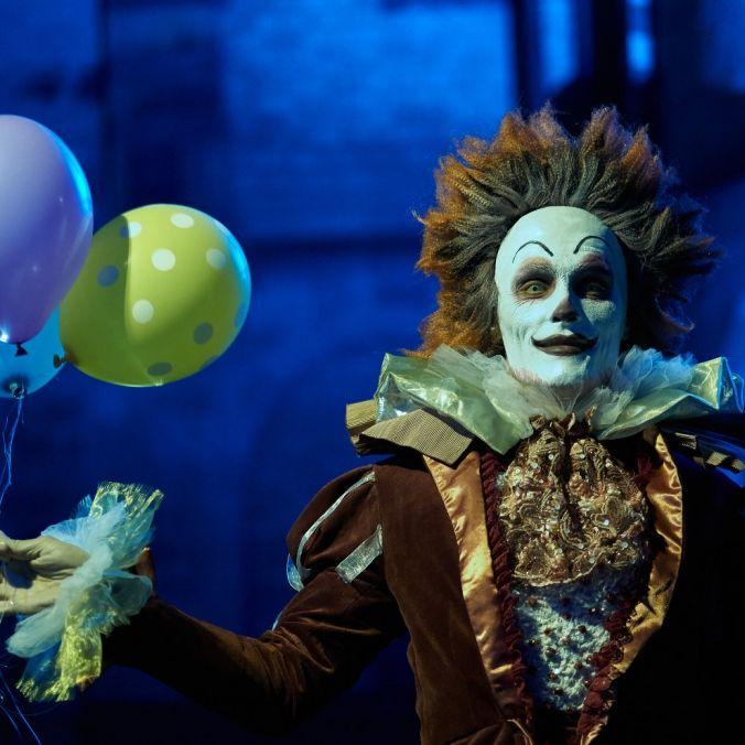 Packende Killer-Clown-Hatz im Kölner Karneval (Foto)